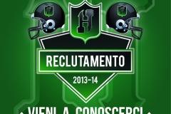 poster recruiting evento 11.7.2013
